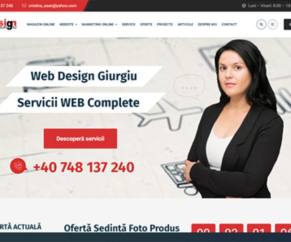 Servicii WEB Giurgiu